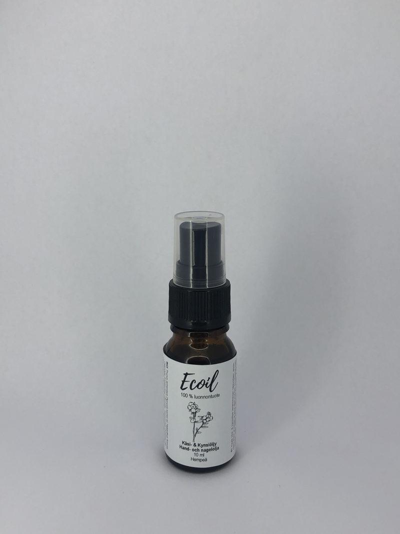 Ecoil käsi- ja kynsiöljy 10ml hempeä